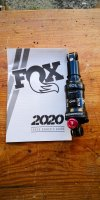 Ammortizzatore xc fox float dps evol performance 165 38